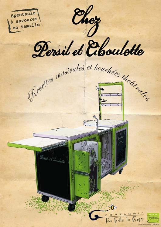 Affiche Chez Persil et Ciboulette